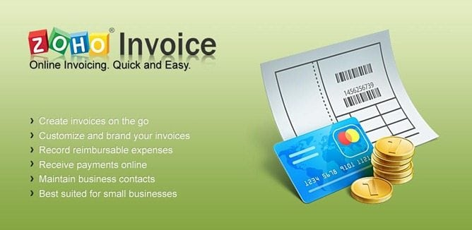 Zoho invoice invoice software online web based for Zoho invoice download